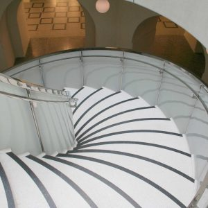 Rotunda Curved Glass Balustrades Installed at Tate Britain