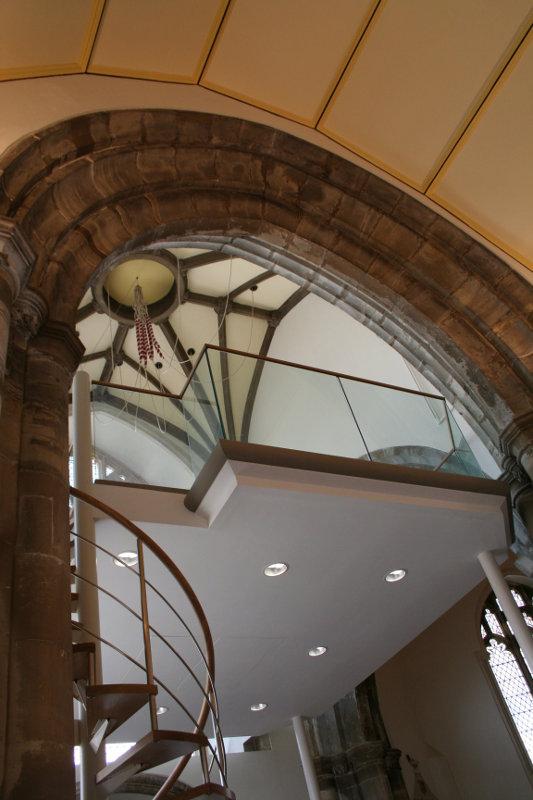 Glass Balustrade for Mezzanine Floor