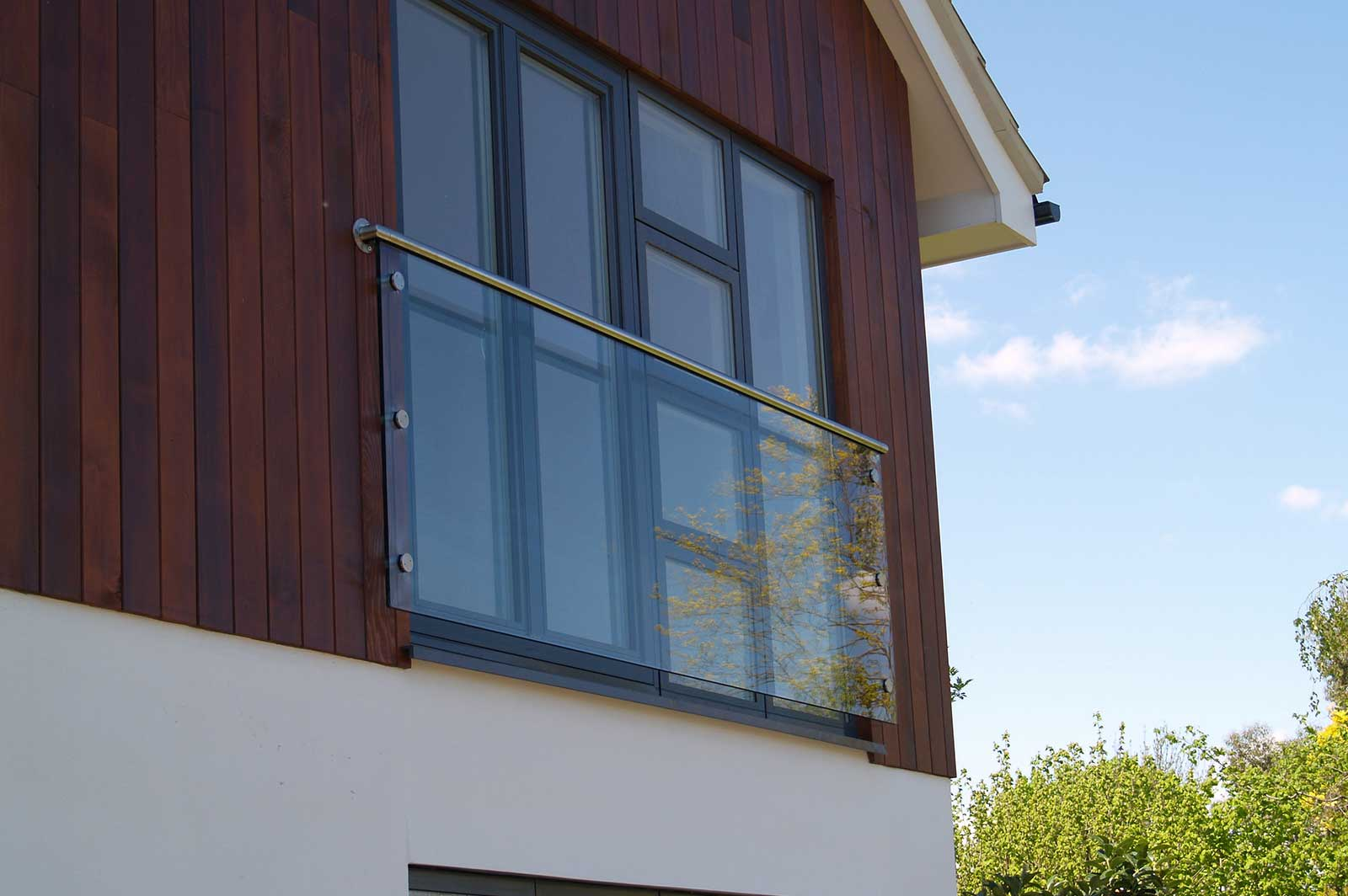 External Glass Balustrade Balconies, New Build