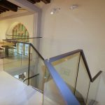 Laminated Toughed Glass Balustrades to Mezzanine Floor