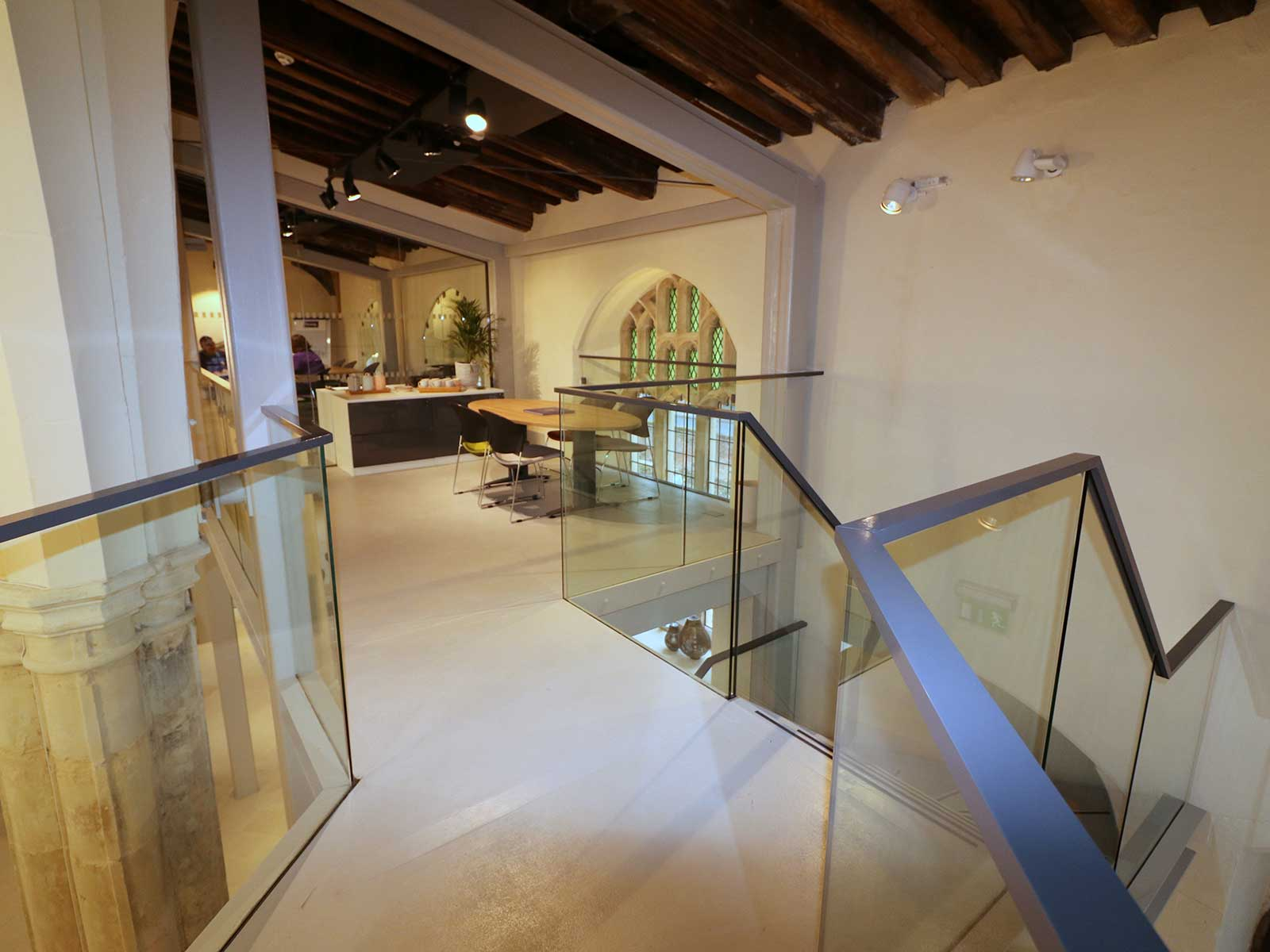 Frameless Glass Balustrades with Concealed Channel Fixing