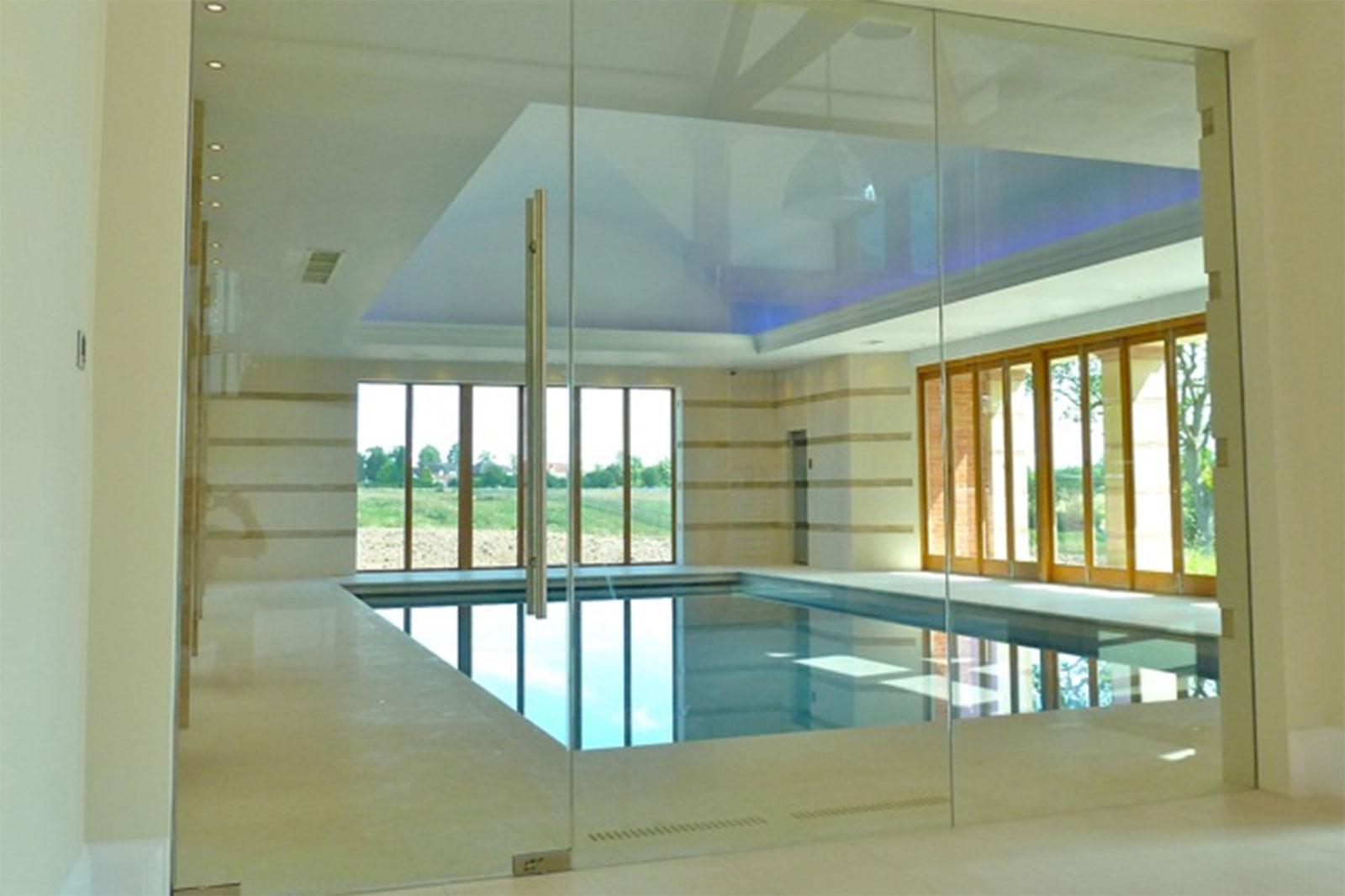 Swimming Pool Frameless Glass Screen