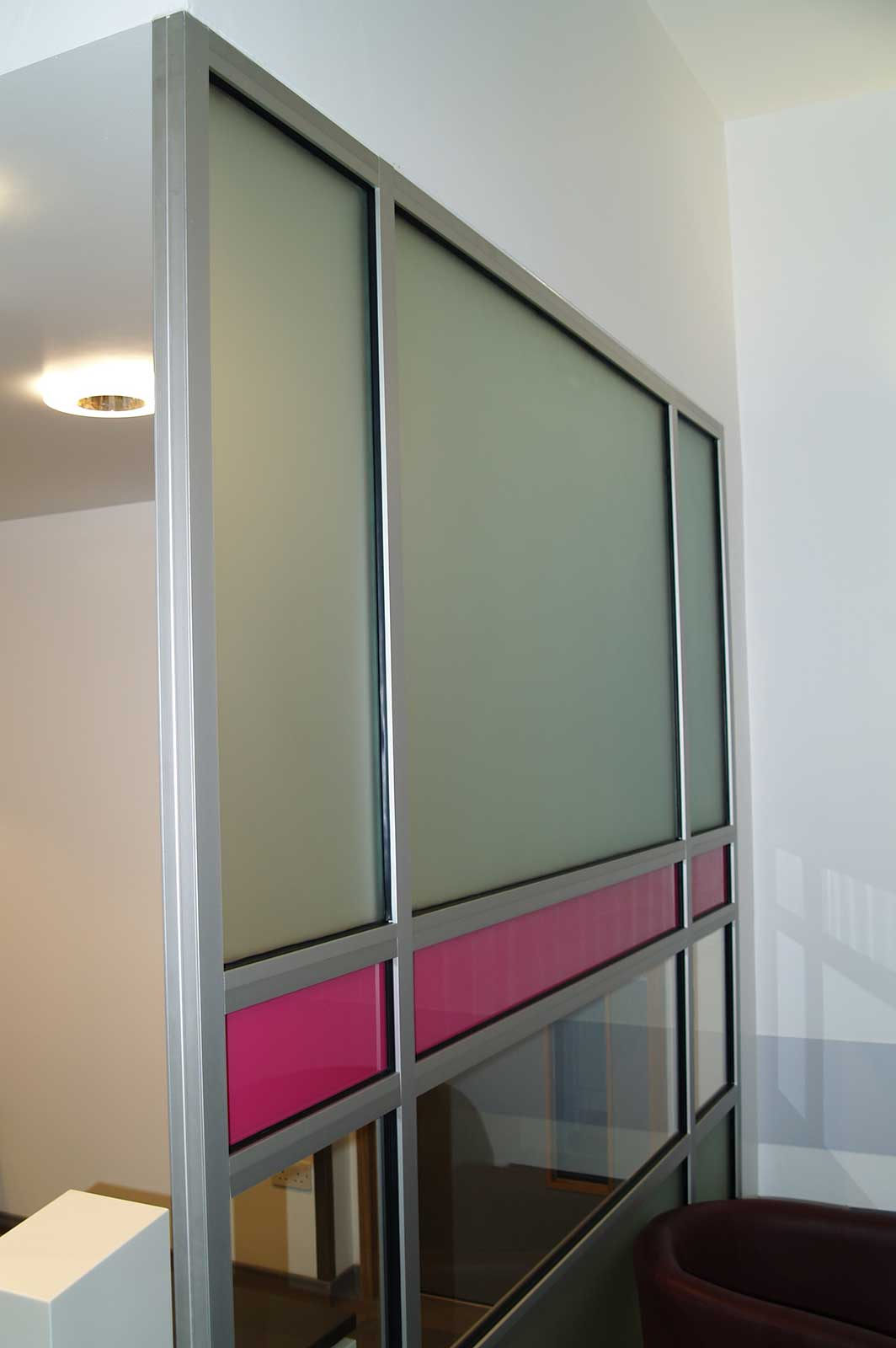 Bespoke Glass Privacy Screens, Bedford MRI Hospital