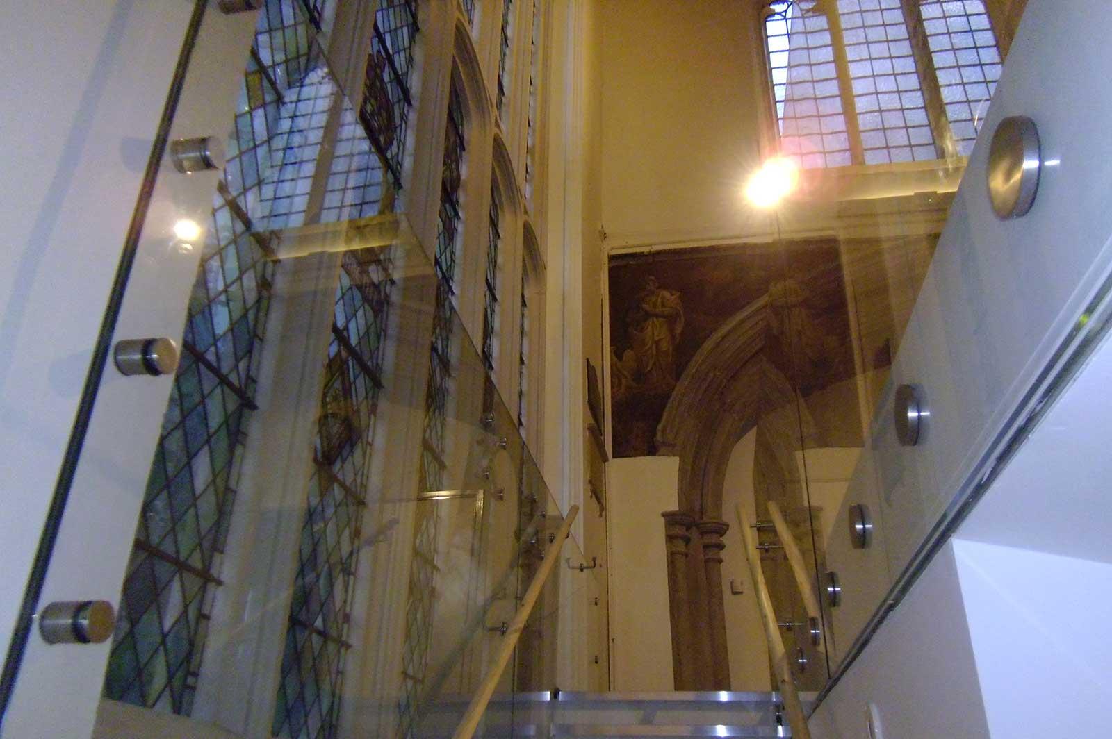 Bespoke Glass Balustrade, St. Andrew's Church