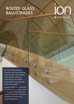Bolted Glass Balustrade Brochure