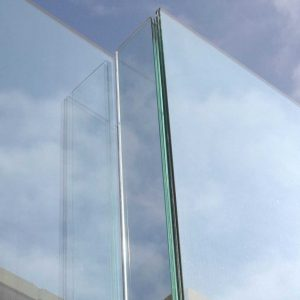 Ion Glass External Channel Set Glass Balustrade