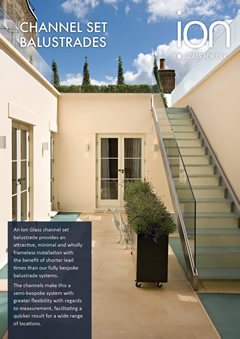 Channel Set Glass Balustrades Brochure