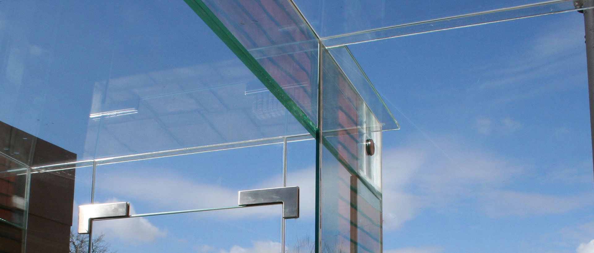Glass Linkway, Church House Header