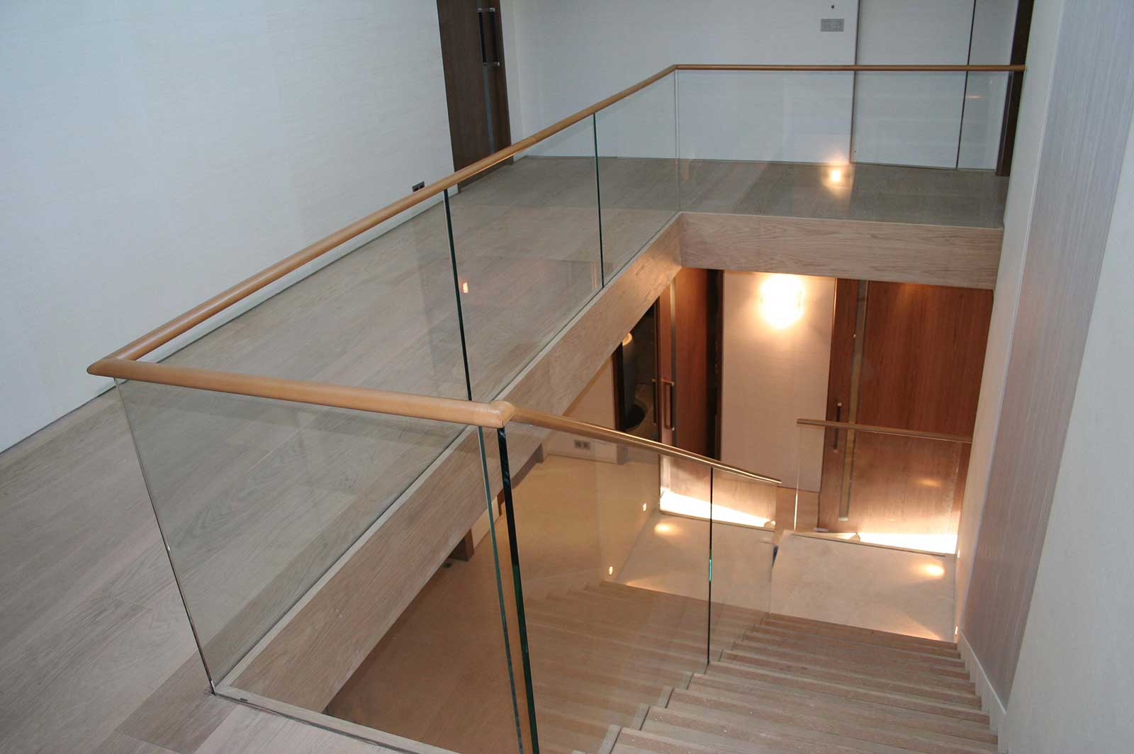Glass Balustrades to Staircase & Landing