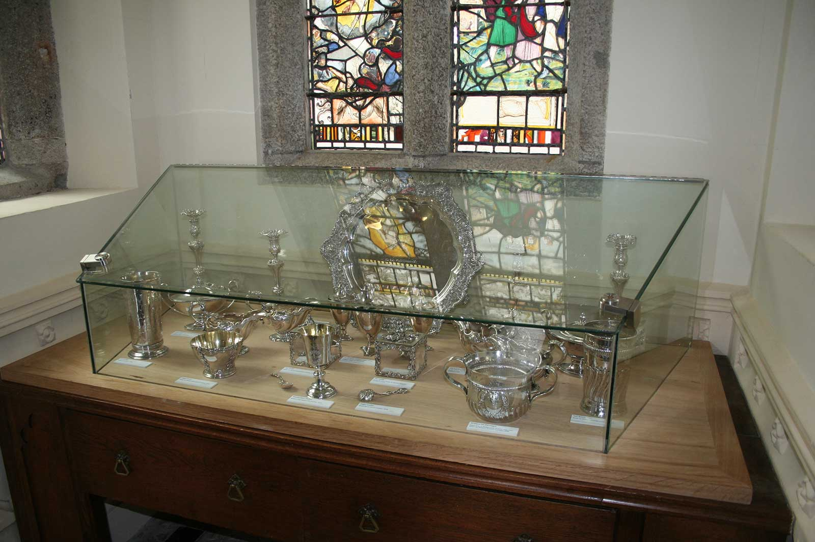 Secure Glass Display Cabinet, St. Michael's Mount