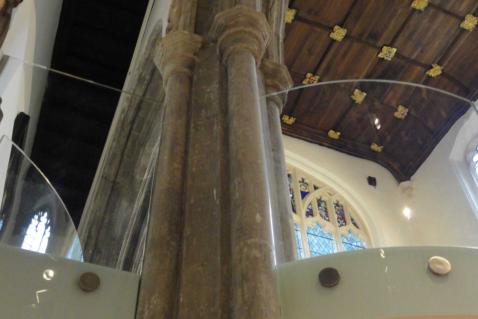 Bolt Fixed Glass Balustrades, St. Andrew's Church