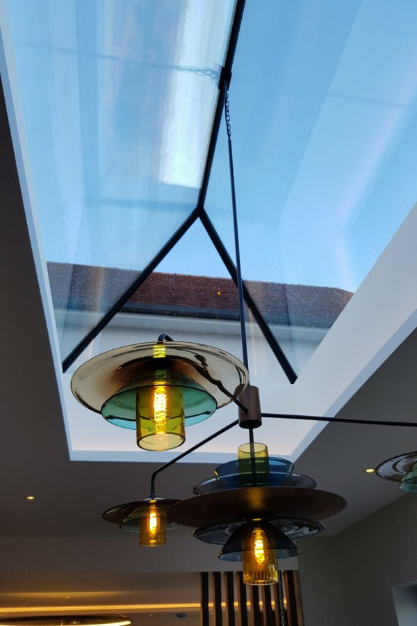 Large Custom Glass Rooflight Bespoke Size