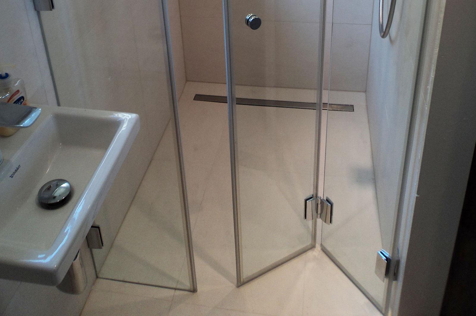 Bespoke Folding Shower Enclosure