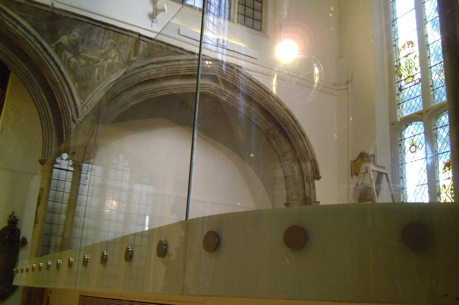 Frameless Glass Balustrades, St. Andrew's Church