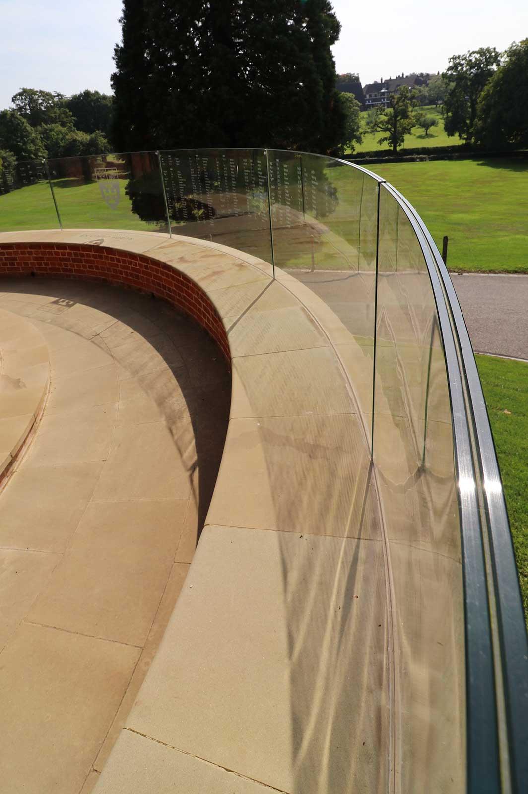 External Laminated Glass Balustrades, Cranleigh School