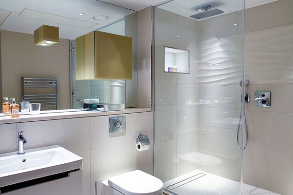 Bespoke Frameless Glass Shower Screen
