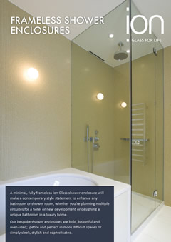 Frameless Glass Shower Enclosures Brochure