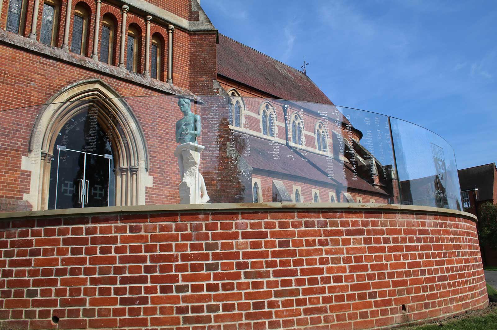 Cranleigh School External Glass Balustrade