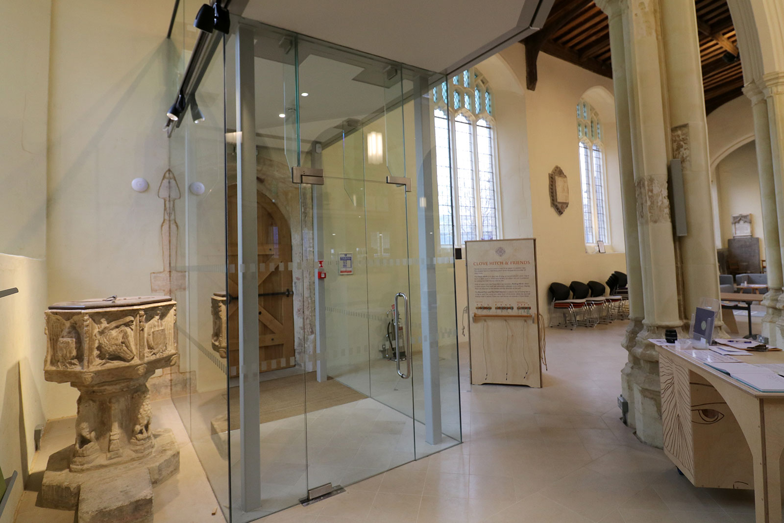 Bespoke Glass Lobby Area and Entrance Screens