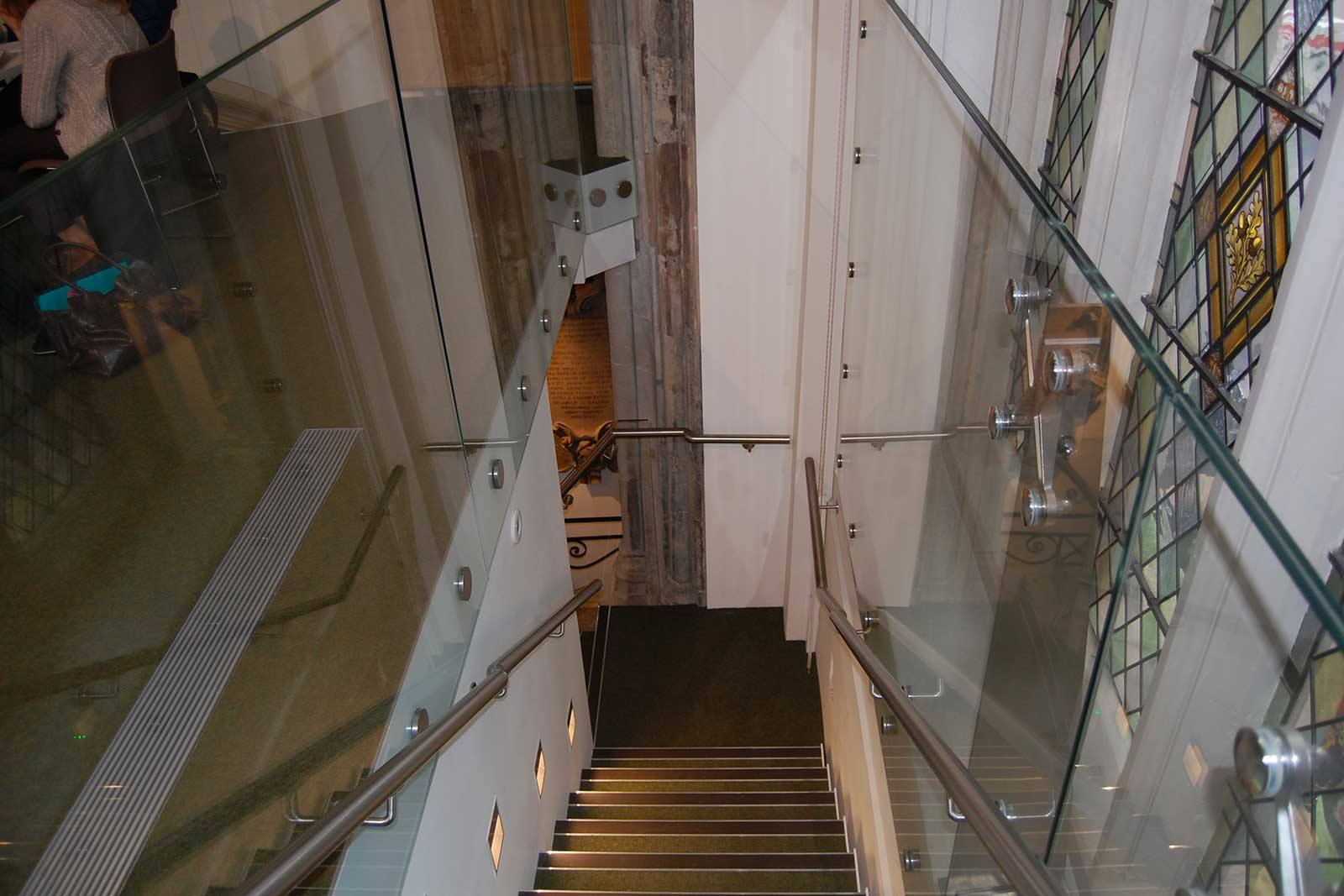 Specifying Glass Balustrades for Heritage Property