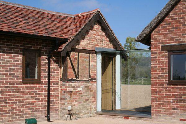 Glass Linkway to create Glass Corridor to Heritage Property