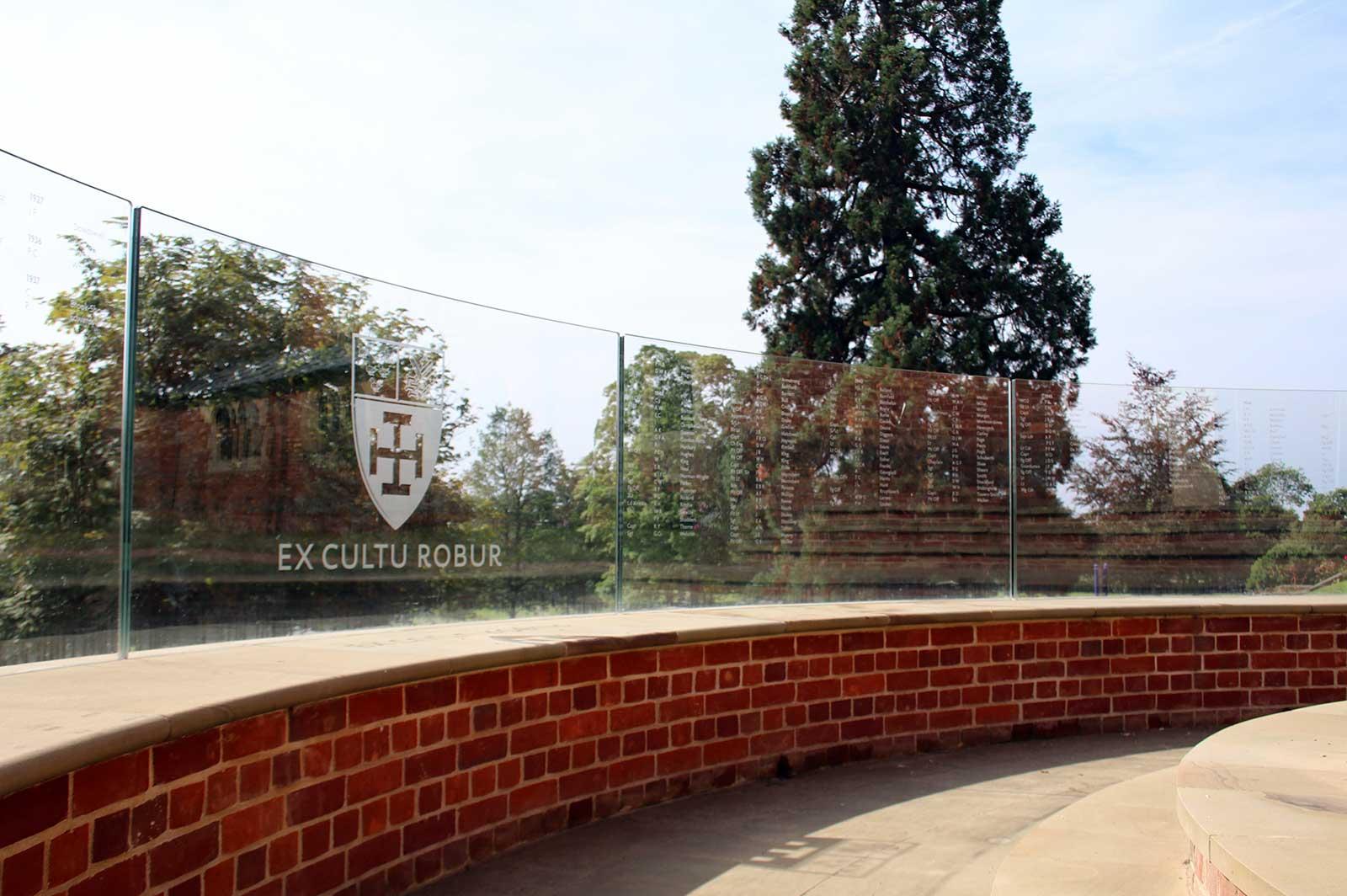 External Frameless Glass Balustrade. Cranleigh School