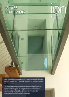 Bepsoke Glass Flooring Brochure
