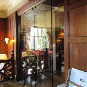 Frameless Fire Rated Glass Doors
