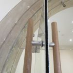 Bespoke Frameless Glass Doors for Heritage Interior