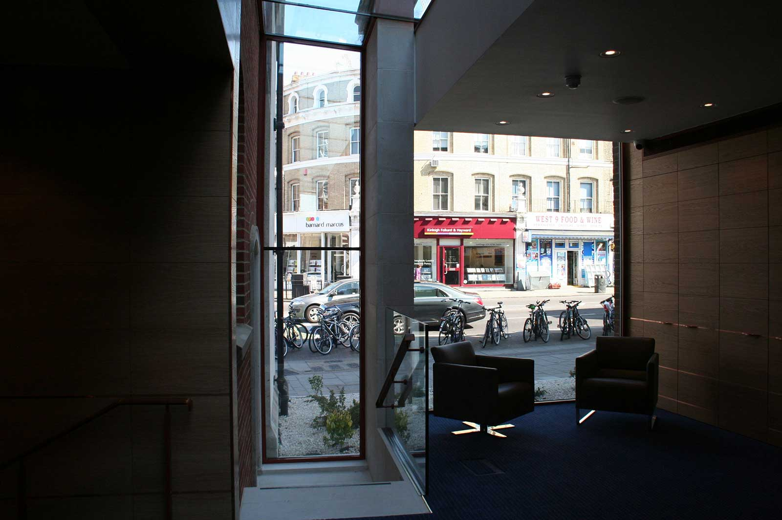 Bespoke Glass Interiors, London Solicitors
