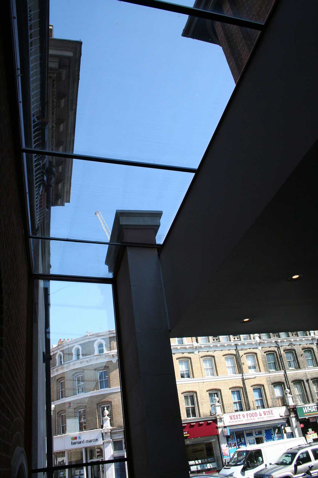 Structural Glass Rooflights, London Solicitors