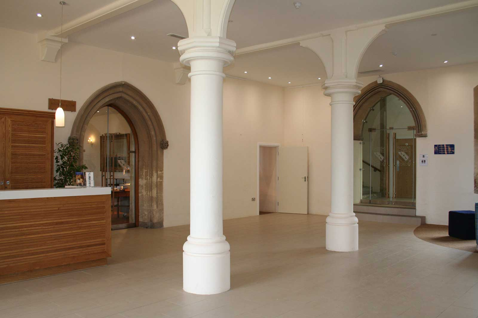 Double Glass Doors to Suit Archways, Lancing College