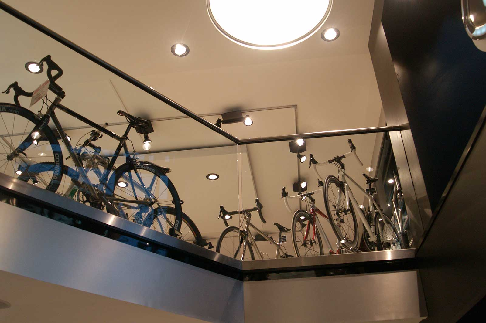 Bespoke Glass Balustrades for retail space