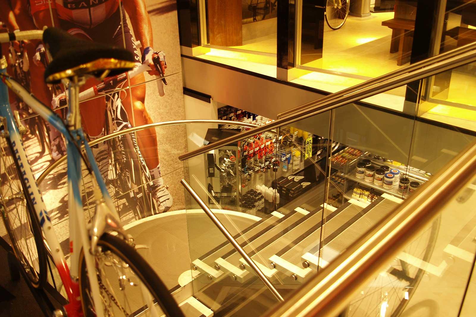 Custom Glass Balustrades Sigma Sports Shop