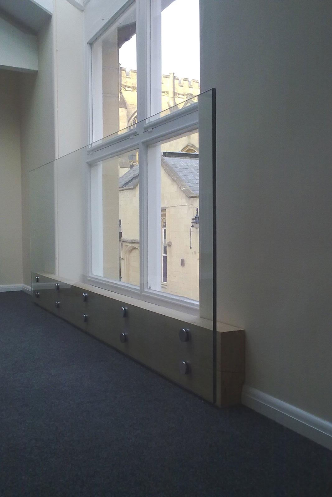 Bolt Fixed Glazed Balustrade, Cheltenham College