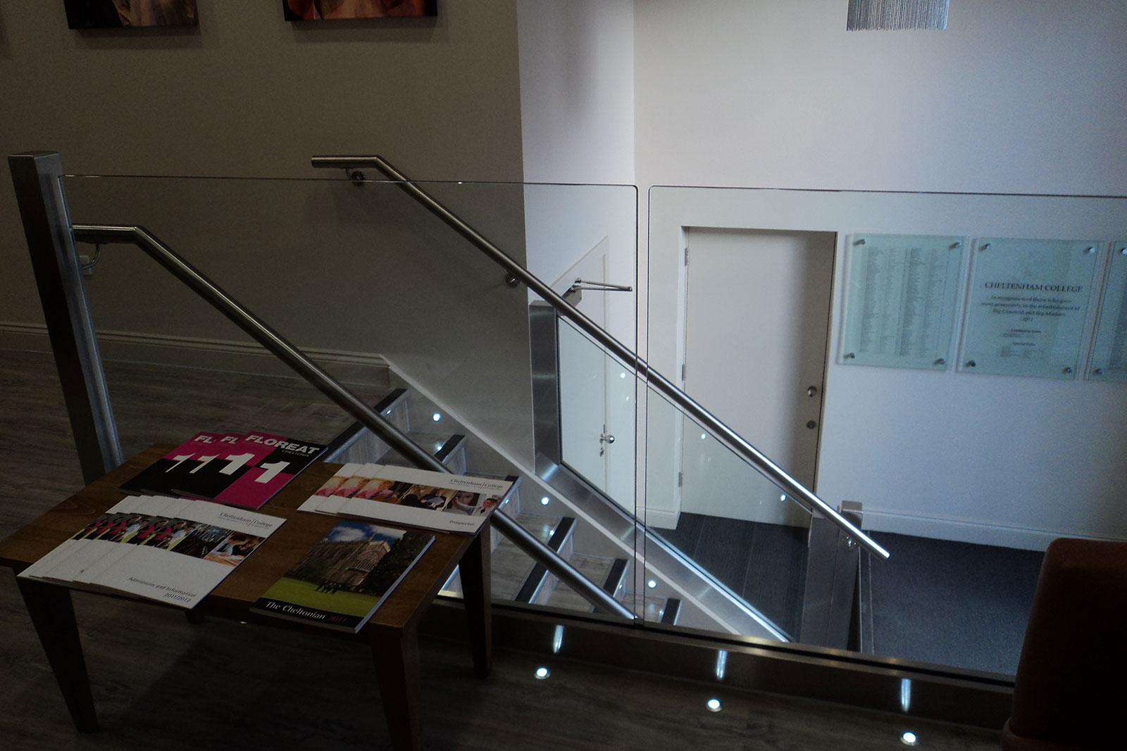 Bespoke Glass Balustrading for Cheltenham College