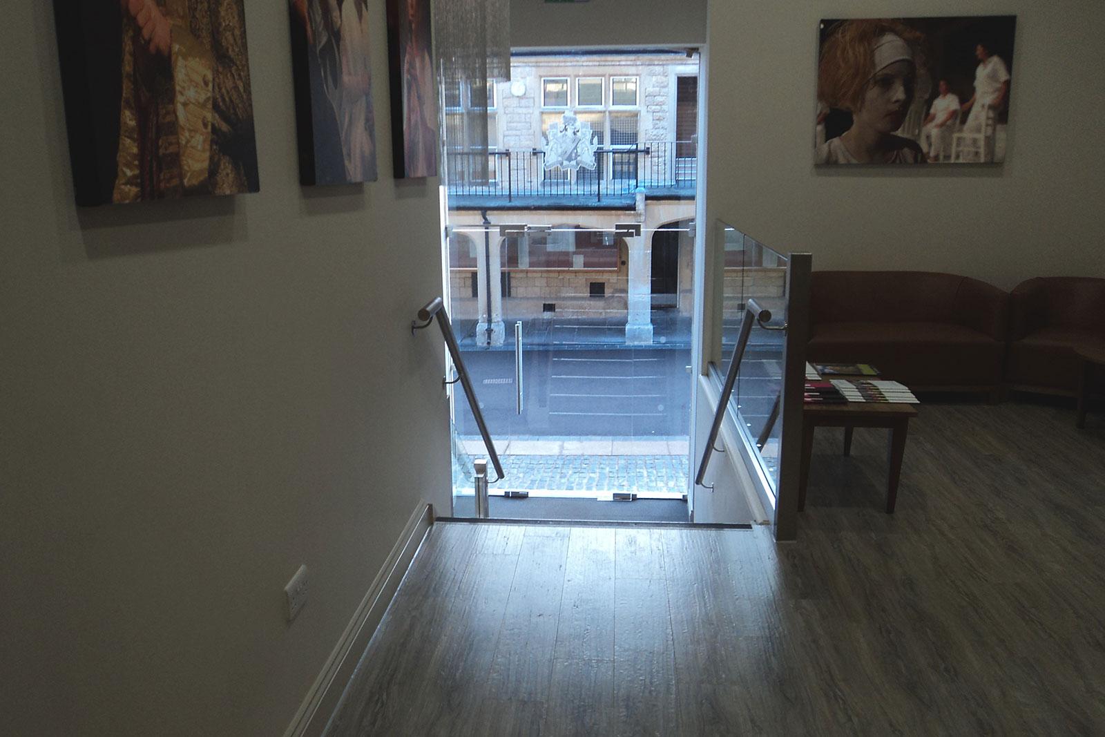 Frameless Glass Balustrade Panels, Cheltenham College