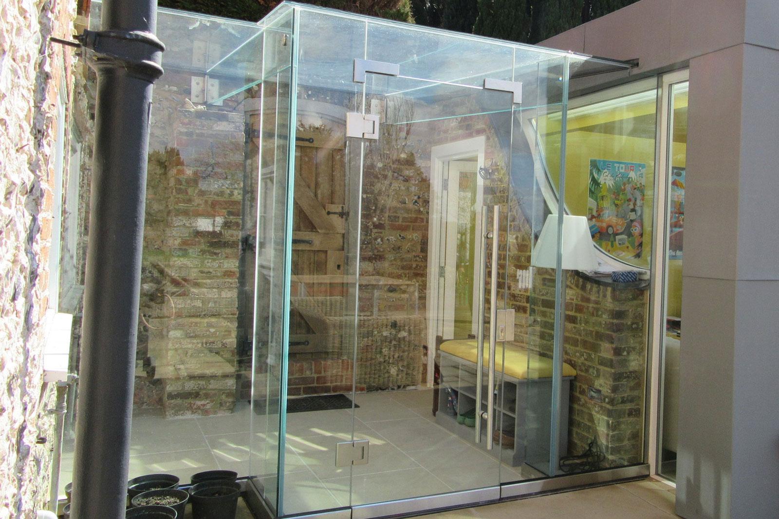 Structural Glass Door : Secure glass doors ionglass