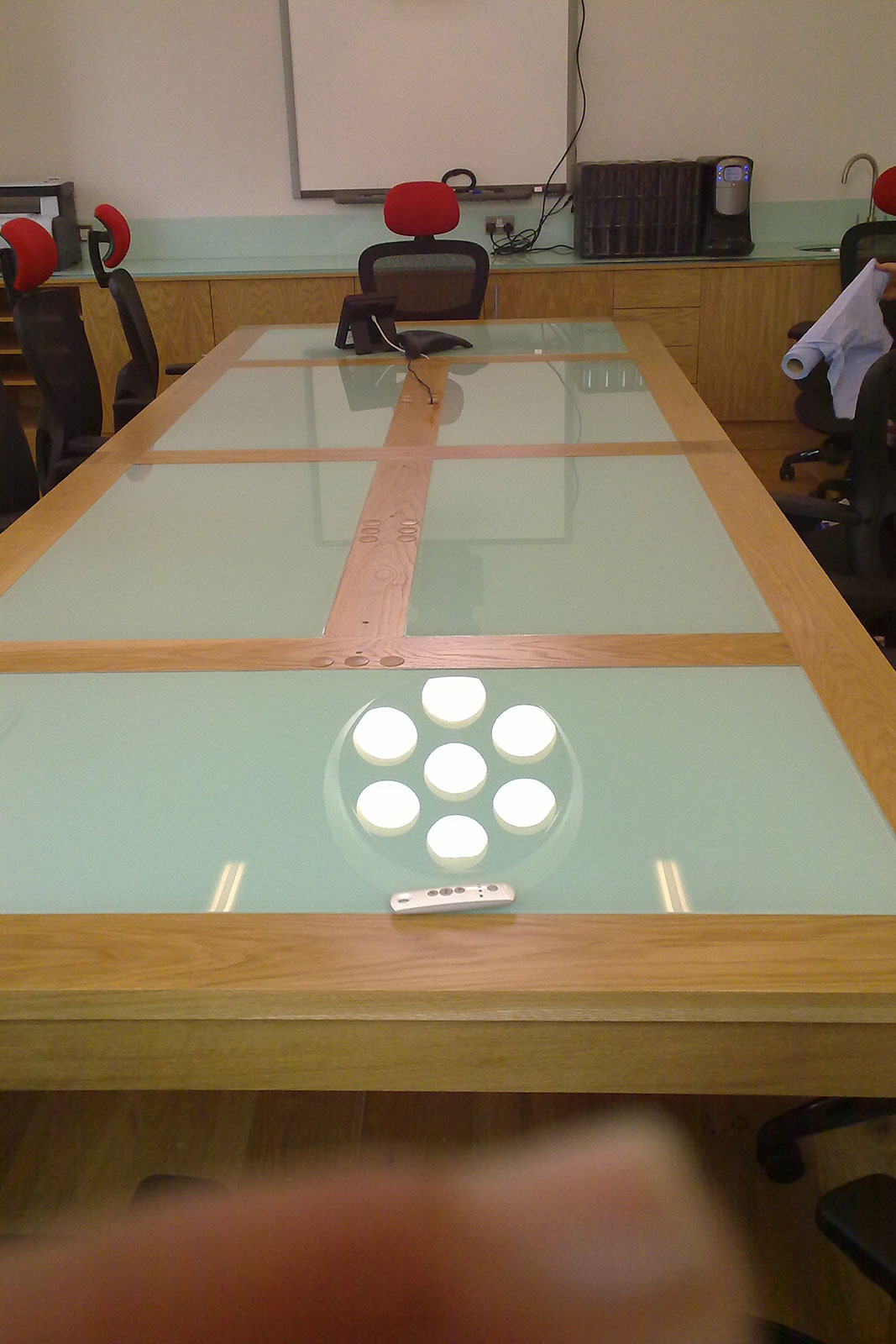 Backpainted Glass Table Inserts, Glass Worktops