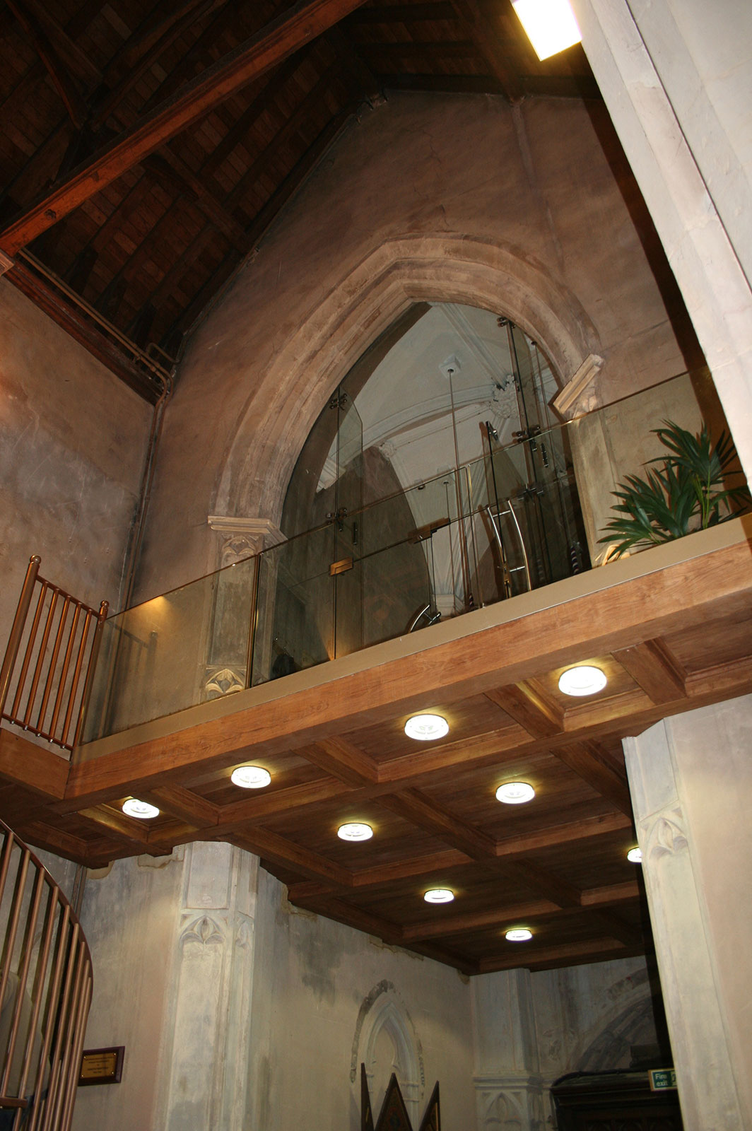 Architectural Glass Screens and Balcony, St. Peter's Church