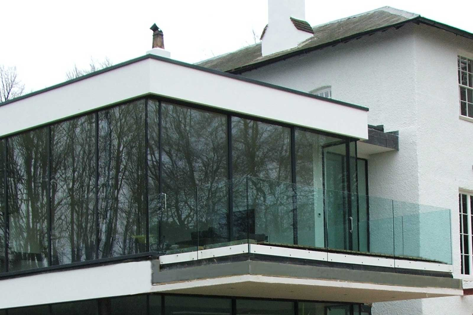 External Frameless Glass Balcony Balustrading