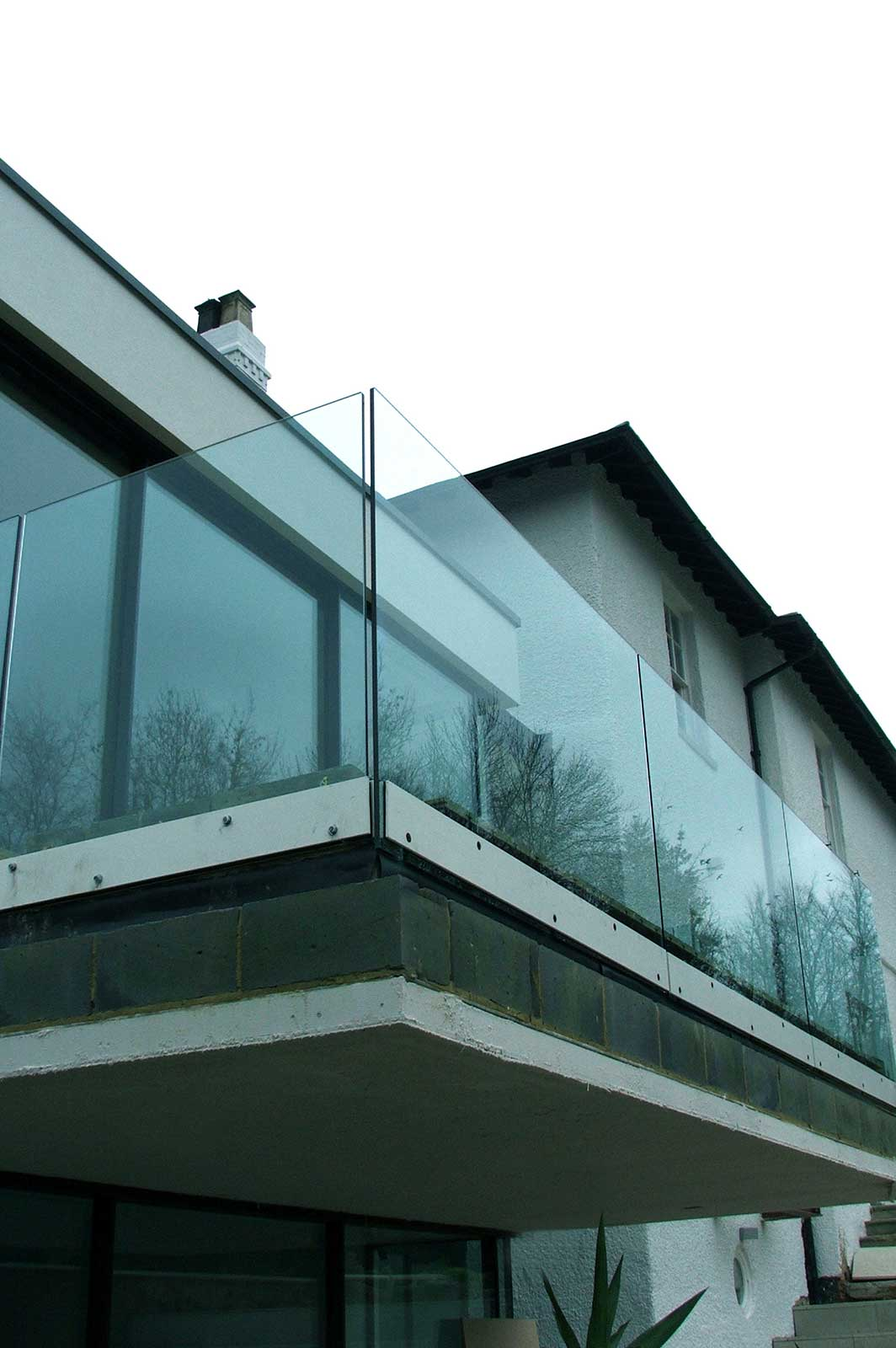 External Glass Balustrade Balcony