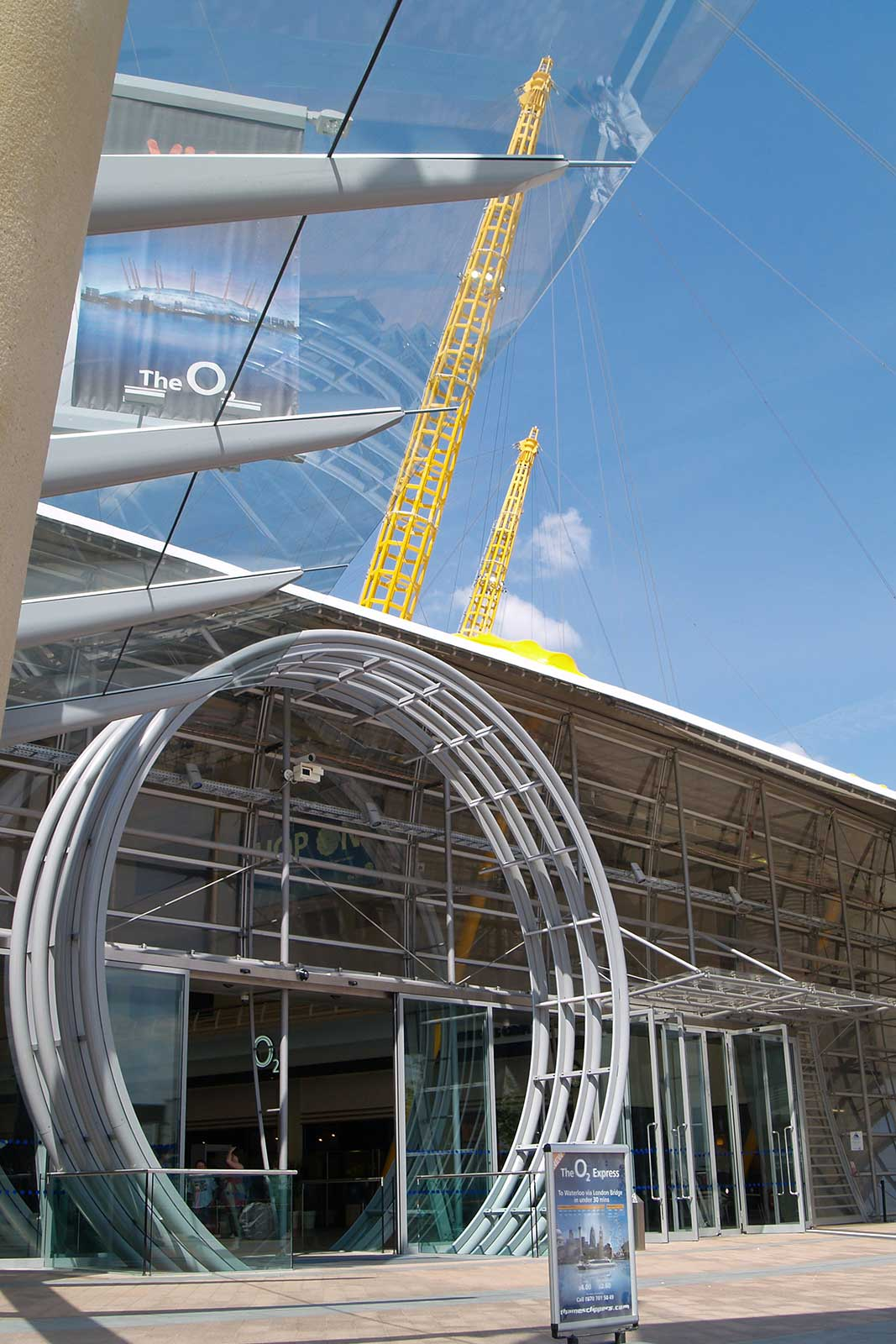 O2 Arena Entrance