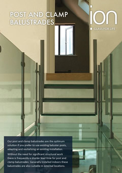 Post and Clamp Glass Balustrade Brochure