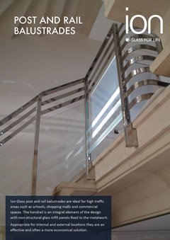 Post and Rail Glass Balustrade Brochures