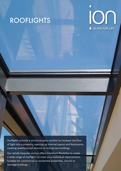 Bespoke Glass Rooflights Brochure