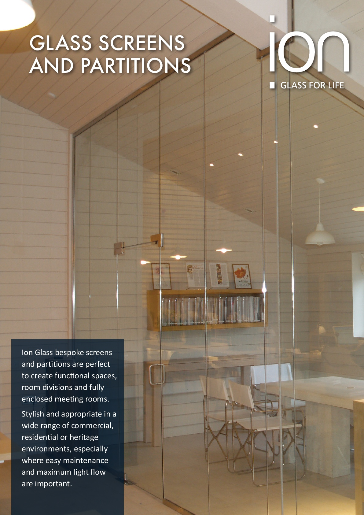 Ion Glass Screens & Partitions Brochure