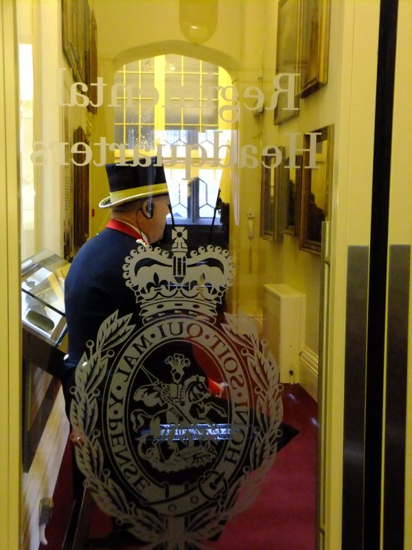 Bespoke Glass Door, Fusiliers' Museum Tower of London