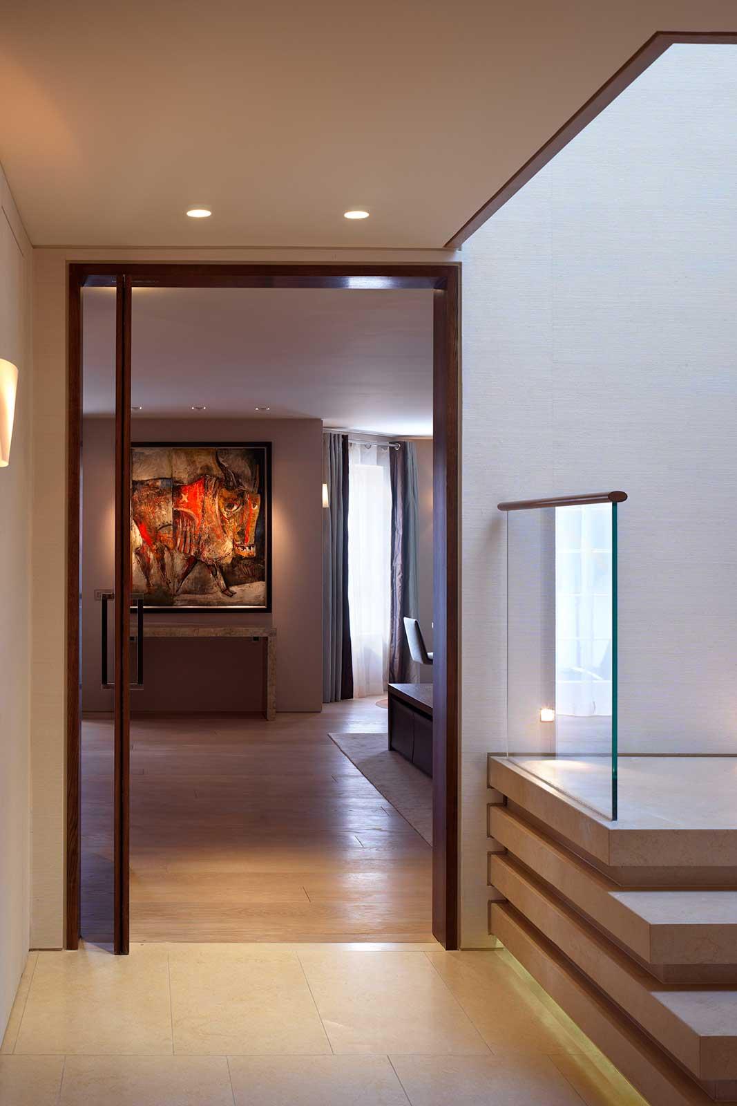 Bespoke Glass Balustrade and Doors