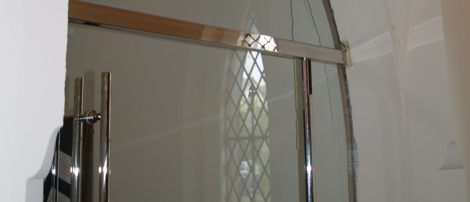 Frameless Glass Doors, St. Mark's Church